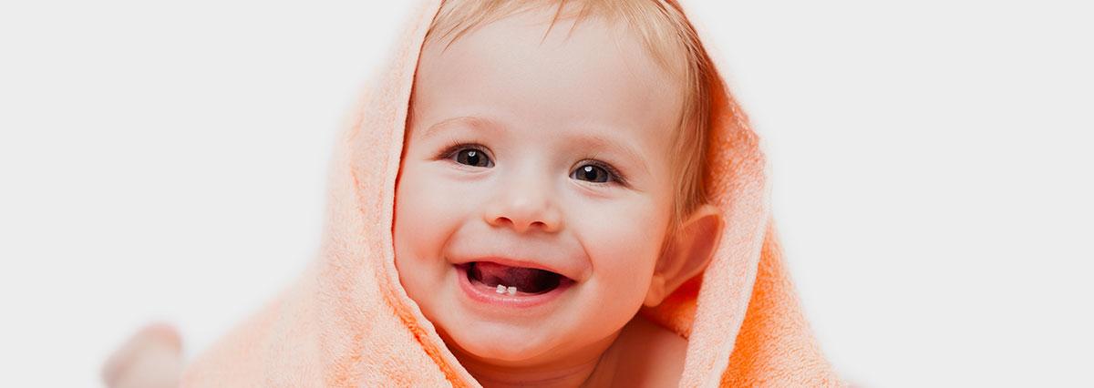 poussée dentaire bébé