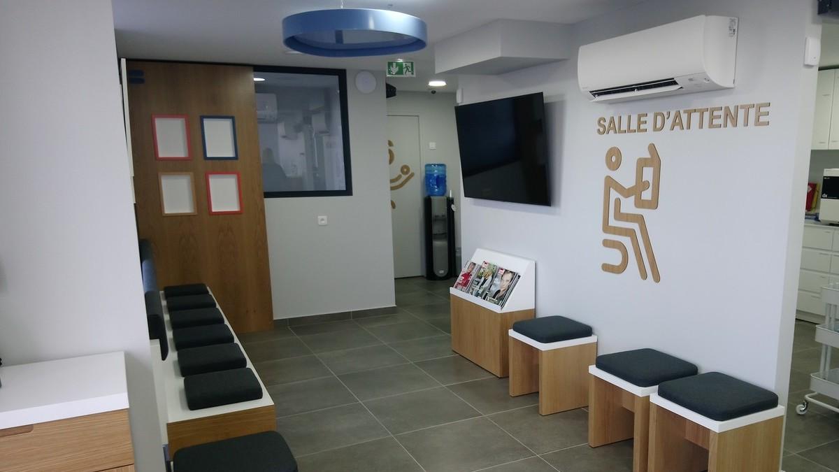 salle attente centre dentaire dentego saint raphael