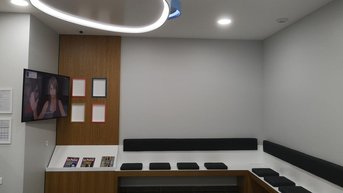 salle attente centre dentaire dentego toulon
