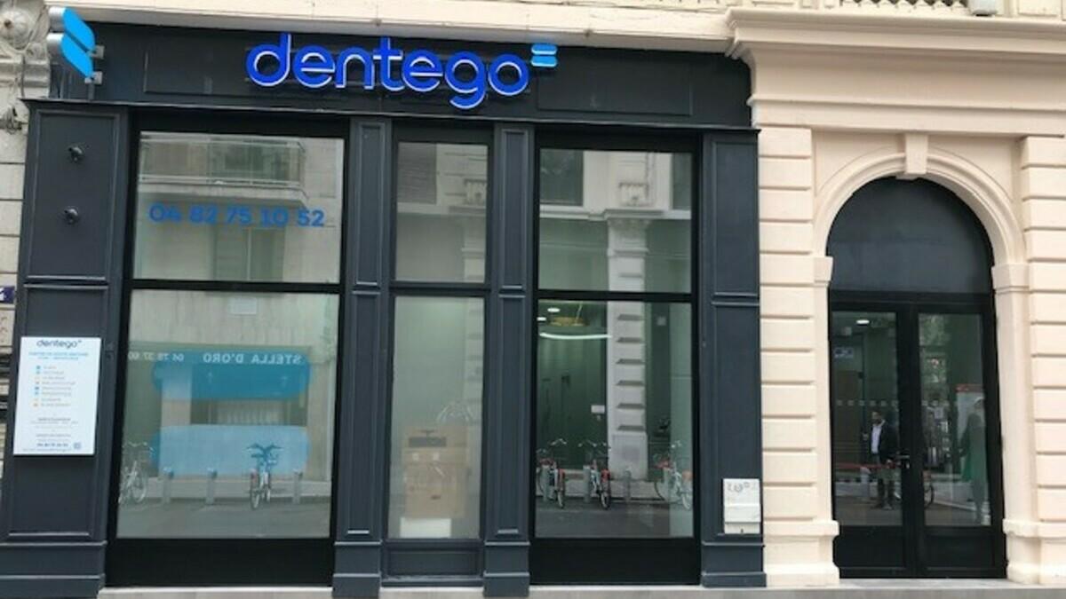 Devanture centre dentaire Dentego Lyon République 1200x675