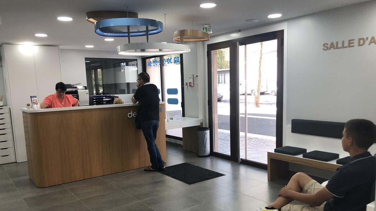 centre dentaire salle d'attente dentego Chartres