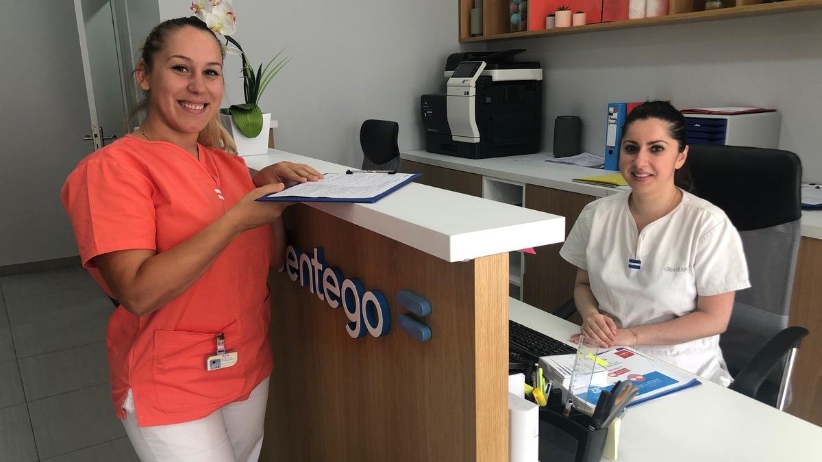 Accueil avec assistante dentaire et secrétaire - Centre dentaire Paris 15 Lecourbe