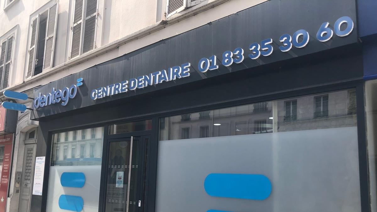 Devanture centre dentaire Paris 15 Lecourbe