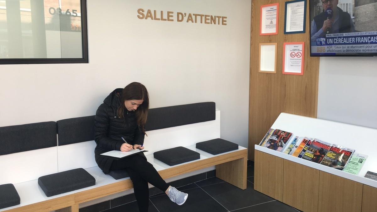 Salle d'attente centre dentaire Amiens