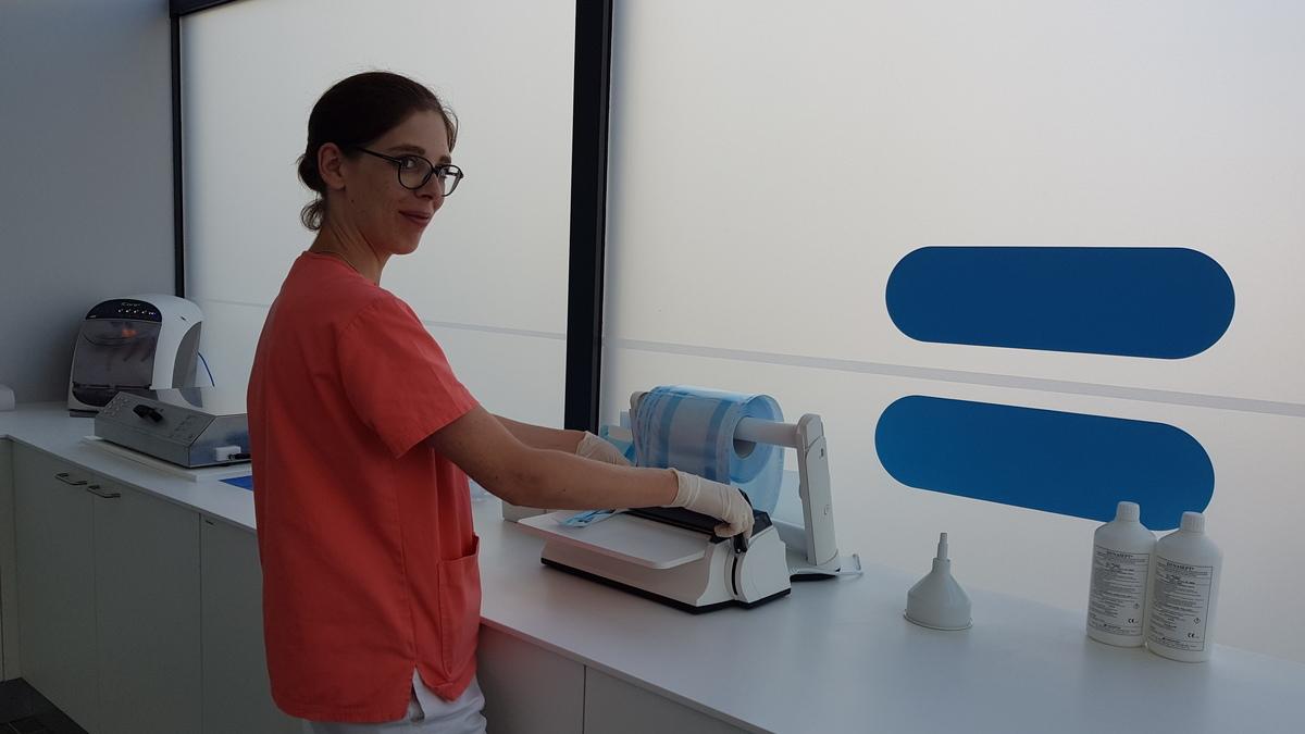 Salle de stérilisation du Centre dentaire Blagnac Toulouse de Dentego