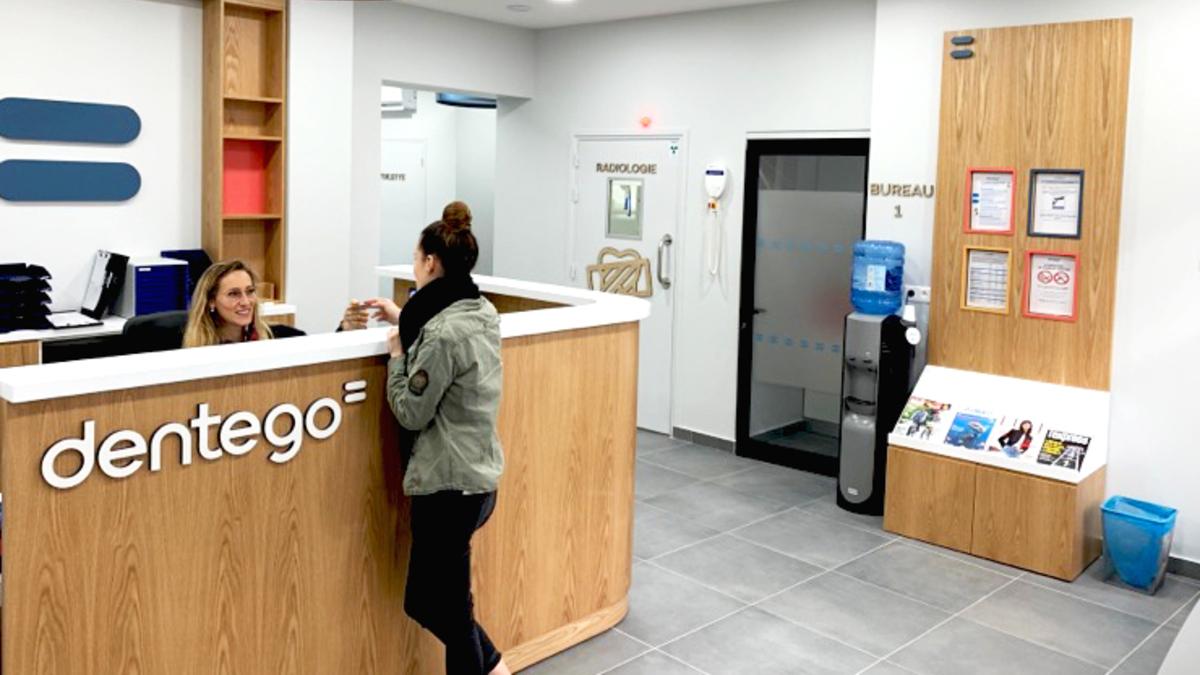 Centre dentaire Montpellier Comédie Dentego (accueil)
