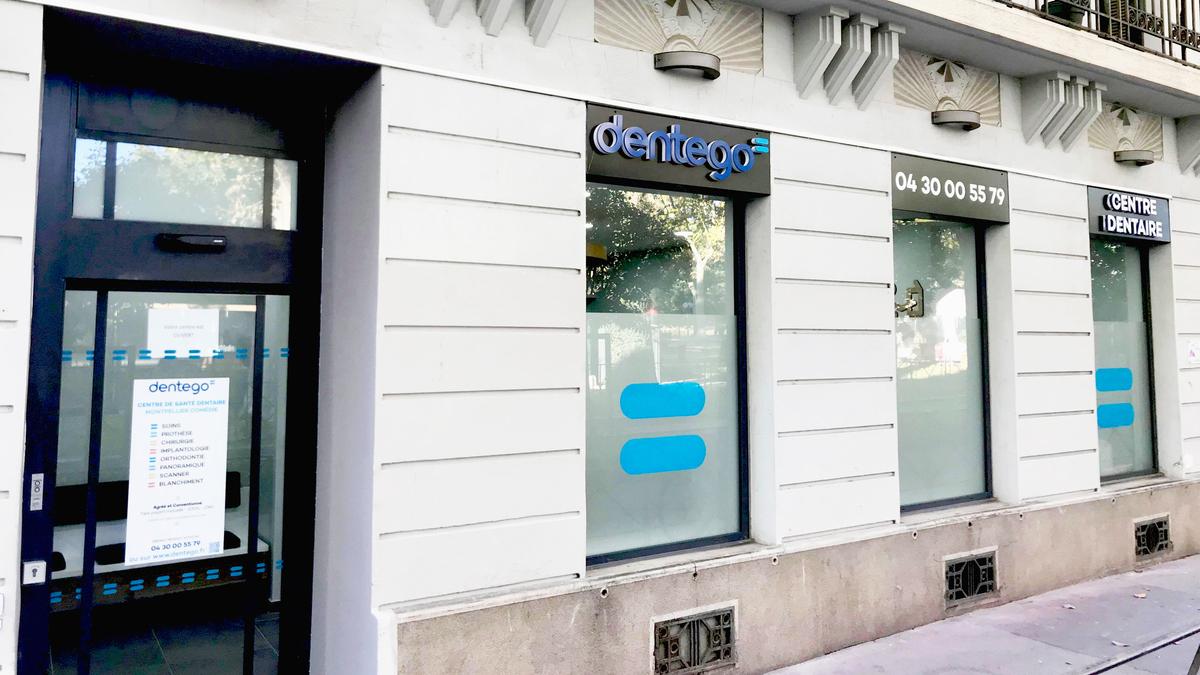 Centre dentaire Montpellier Comédie devanture
